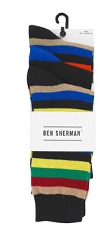 Bilde av Ben Sherman Mens Sock 3 Pk.
