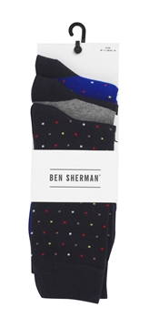 Bilde av Ben Sherman Mens Socks 3 Pk.