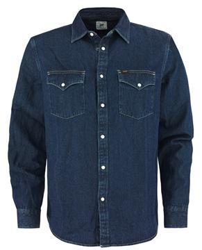 Bilde av Lee Western Shirt Blue Depths