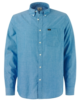 Bilde av Lee Button Down Indigo Blue