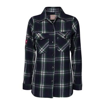 Bilde av Line Of Oslo Used Check Shirt