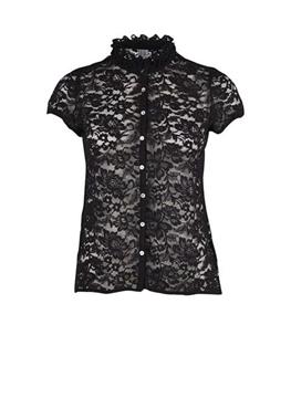 Bilde av Saint Tropez Lace Shirt With Ruffle