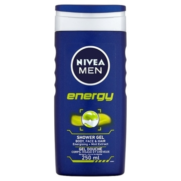Bilde av Nivea Men Energy Shower Gel 250ml