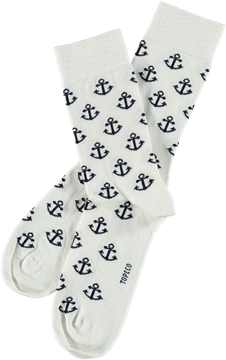 Bilde av Mens Sock Anchor Man