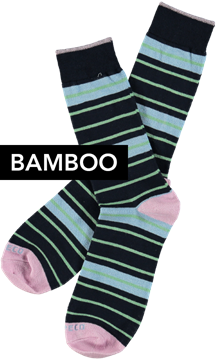 Bilde av Mens Sock Bamboo Svenne Strip