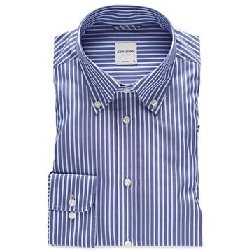Bilde av John Henric Blue White Stripe Shirt