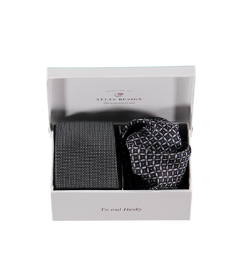 Bilde av Atlas Design Tie & Hanky Kit Gift Box