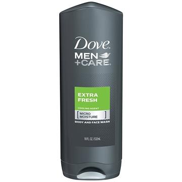 Bilde av Dove Extra Fresh Men 250 ml Body & Face Wash