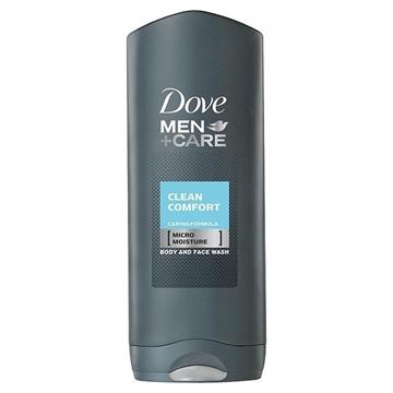Bilde av Dove Clean Comfort Men 250 ml Body & Face Wash