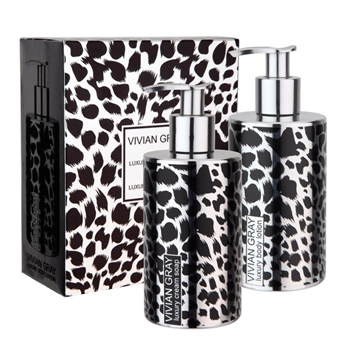 Bilde av Vivian Grey Giftbox Silver Safari Cream Soap & Body Lotion